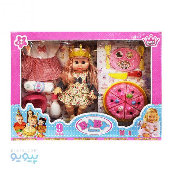 عروسک نوزاد BABY BORN مدل جشن تولد