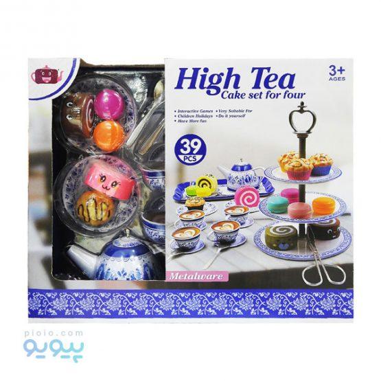 اسباب بازی ست کیک و چای خوری HIGH TEA