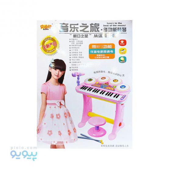 اسباب بازی ست پیانو با صندلی