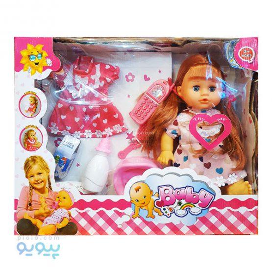 عروسک دختر بچه مدل Baby کد 2010