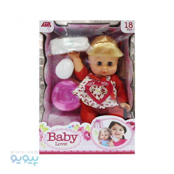 عروسک نوزاد baby love
