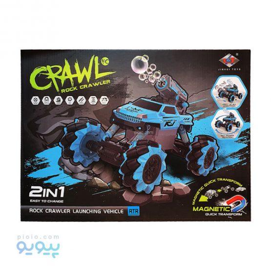 ماشین کنترلی سنگ نورد CRAWL