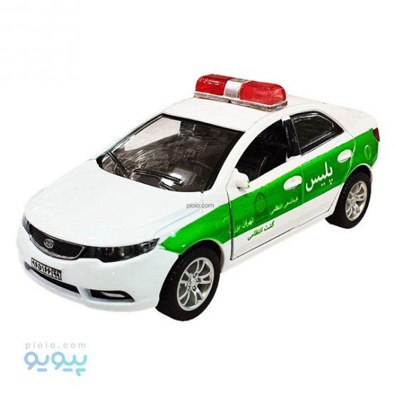 ماکت فلزی ماشین پلیس مدل کیا سراتو