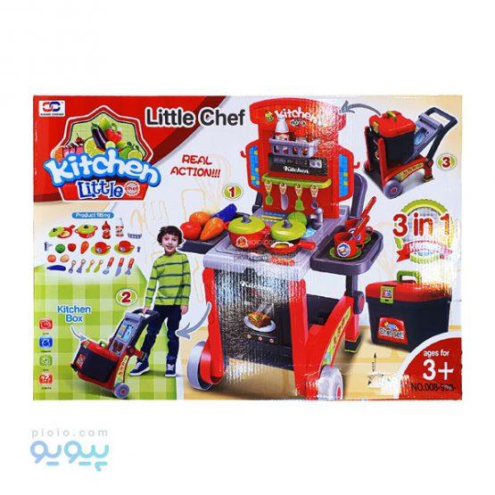 ست اسباب بازی آشپزخانه ژیونگ چنگ