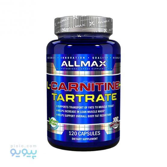 کپسول 120 عددی AllMax L-Carnitine & Tartrate