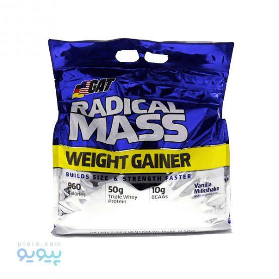مکمل افزایش وزن GAT-RADICAL-MASS