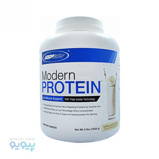 پروتئین مدرن با طعم بستنی وانیلی