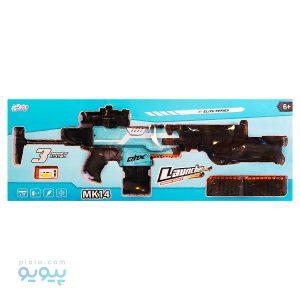 تفنگ بادی اسباب بازی مدل MK14