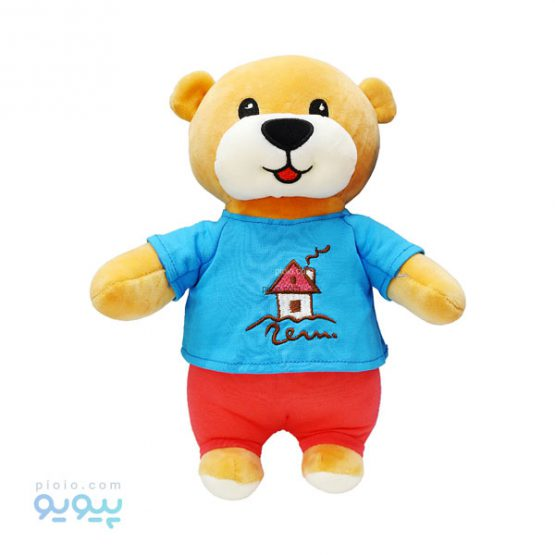 عروسک خرس ناز تی شرت نقاشی دار