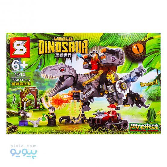 لگو ساختنی world dinosaur کد 1510