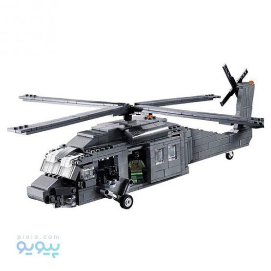 لگو ساختنی UH-60 BLACK HAWK کد 2114