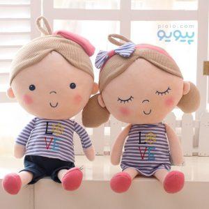 عروسک انسان دختر و پسر