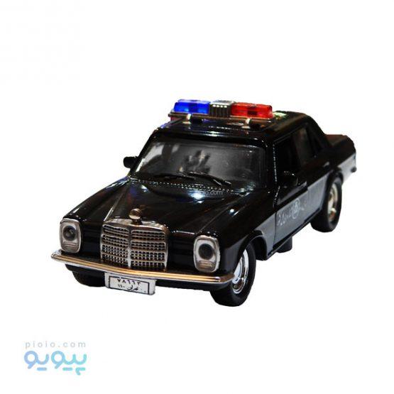 اسباب بازی ماشین پلیس فلزی بنز 220 معماری کلاسیک