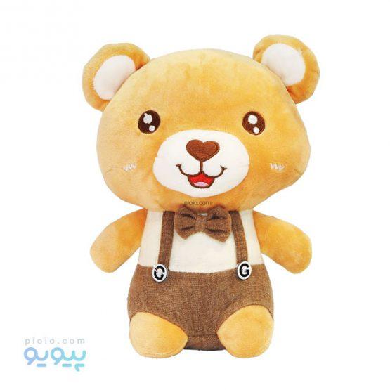 عروسک خرس پسر کراوات پاپیونی