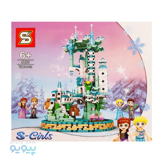 لگو ساختنی S-GIRLS کد 5400