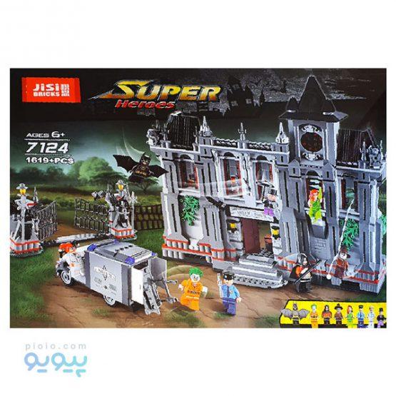 لگو ساختنی SUPER HEROES کد 7124