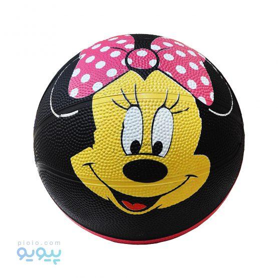 توپ بسکتبال لاستیکی دخترانه مدل مینی موس سایز 3