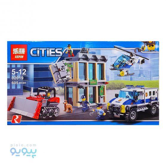 لگو سرقت از بانک Cities 02019