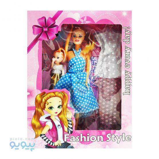 عروسک دوتایی باربی مدل FASHION STYLE
