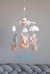 خرید آنلاین آویز تخت نوزاد و کودک