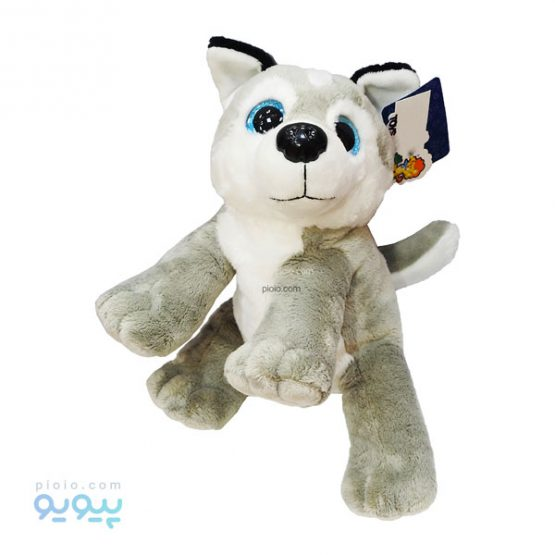 عروسک سگ نانو ایستاده چشم آبی