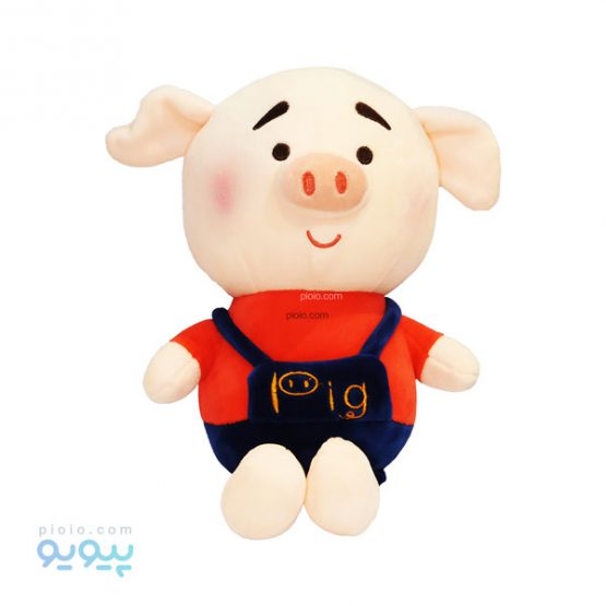 عروسک خوک لباس دو بنده