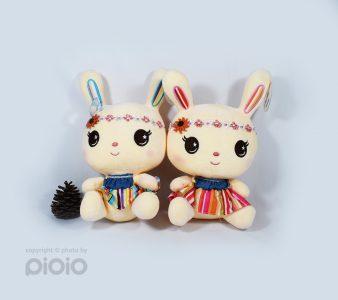 عروسک پاندا کیو