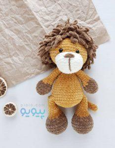 عروسک شیر جنگل