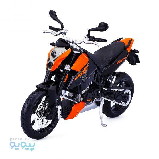 ماکت موتورسیکلت فلزی KTM 690 Duke