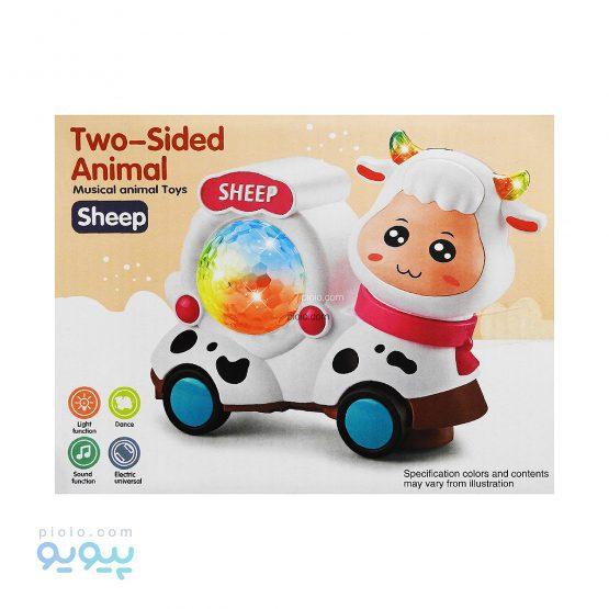 اسباب بازی موزیکال دو رو گوسفند و گاو NO.YJ-3036