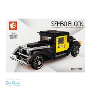 لگو ماشین SEMBO BLOCK 607400