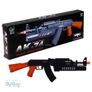 تفنگ مسلسل اسباب بازی الکتریکی AK-74