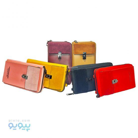 کیف چرم دوشی forever baellarry