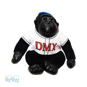 عروسک گوریل سیاه با لباس سفید مدل DMX