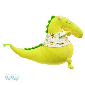 عروسک تمساح با لباس طرح حیوانات