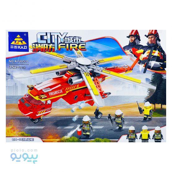 لگو هواپیمای آتش نشانی 352 قطعه کد KY80531