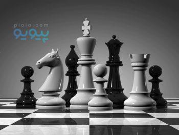شطرنج و تخته نرد دو طرفه چوبی با کیفیت بالا