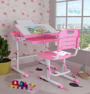 خرید اینترنتی میز تحریر دخترانه با طرح ها و رنگ های شاد