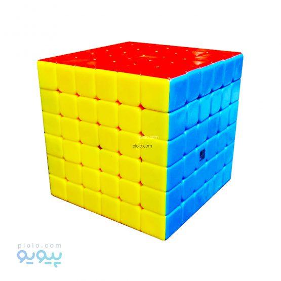 مکعب روبیک 6*6 خود رنگ YUSHI
