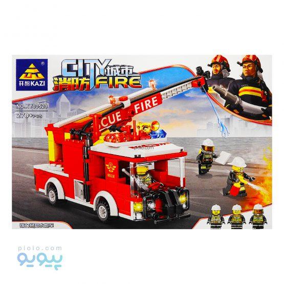 لگو بالابر آتش نشانی 278 قطعه کد KY80529