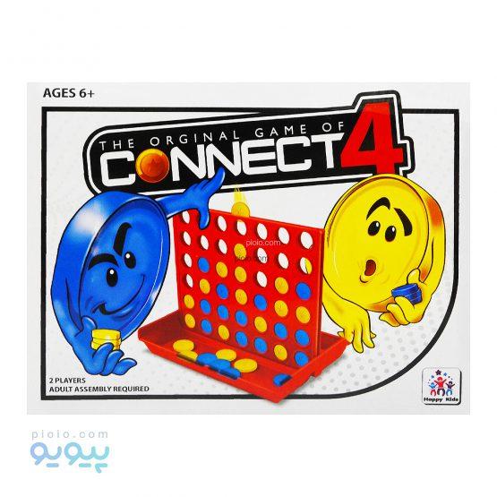 بازی فکری دوز ایستاده Connect 4