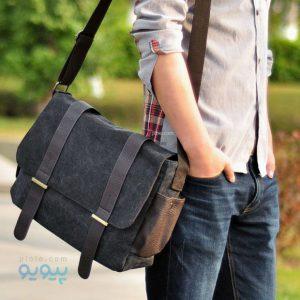 خرید اینترنتی انواع کیف دوشی مردانه با کیفیت بالا