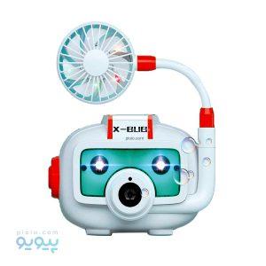 اسباب بازی دوربین حباب ساز موزیکال همراه با پنکه
