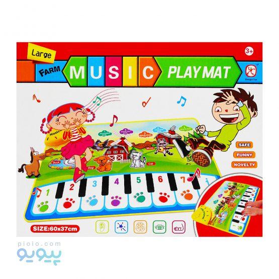 اسباب بازی سفره ارگ play mat موزیک مزرعه