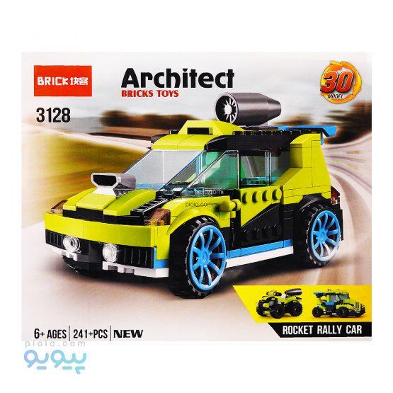 لگو جدید 30 مدل ARCHITECT کد 3128
