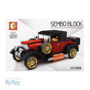 لگو ماشین SEMBO BLOCK 607405