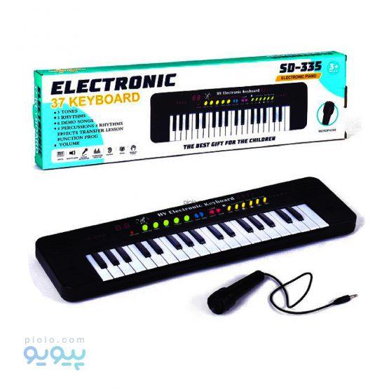 اسباب بازی کیبورد و پیانو الکترونیکی کد 335