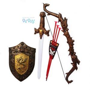خرید آنلاین اسباب بازی شمشیر و سپر