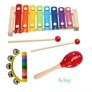 خرید انواع ساز کوبه ای و بلز برای کودکان